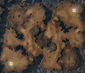 Map: Blistering Sands
