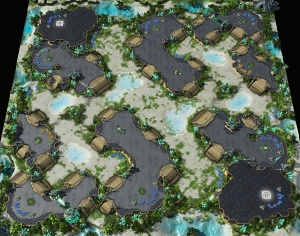 Map: Odyssey LE